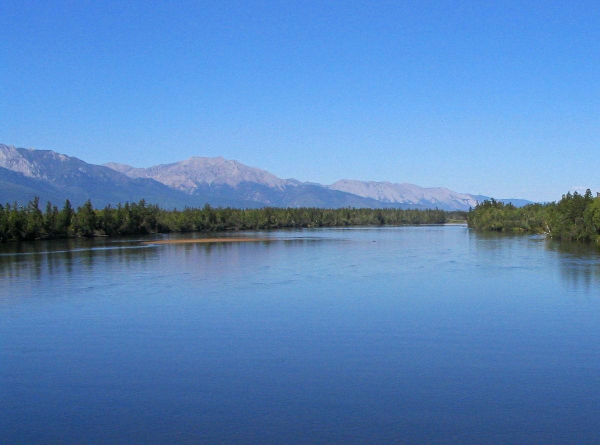 upper angara river