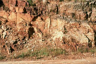 Paleopedology - Vertisol paleosol Watervol Onder.