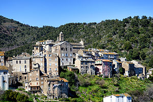 Vescovato, Haute-Corse - A view of the village of Vescovato
