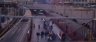 Vesterport Station - Image: Vesterport 1