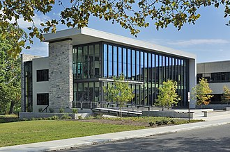 Virginia–Maryland College of Veterinary Medicine - The college opened the Veterinary Medicine Instruction Addition in the fall of 2012. The new building now greets visitors to the college with Hokie Stone.