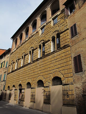 University of Siena - Palazzo San Galgano, The School of Humanities and Philosophy