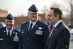 Vice president arrives at Kentucky Air Guard Base 01.jpg