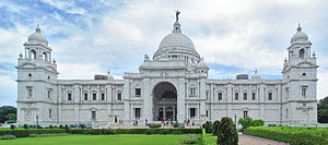 Victoria Memorial, a memorial of Queen Victoria of the United Kingdom, who was the first British monarch to carry the title of Empress of India
