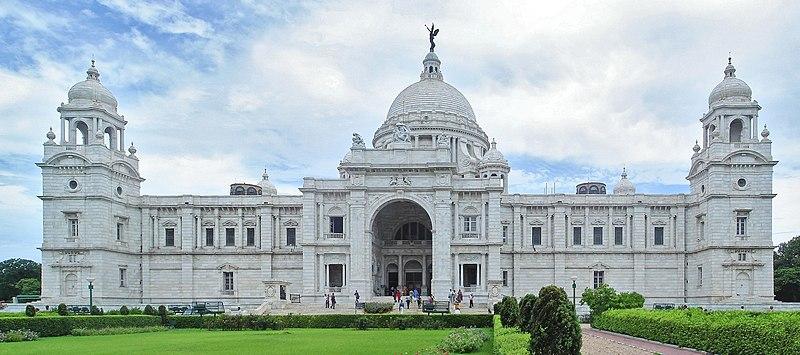 படிமம்:Victoria Memorial Kolkata panorama.jpg