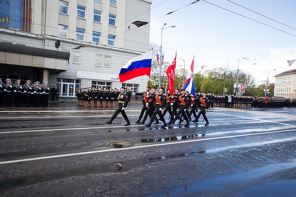 Victory Day in Kaliningrad 2017-05-09 22