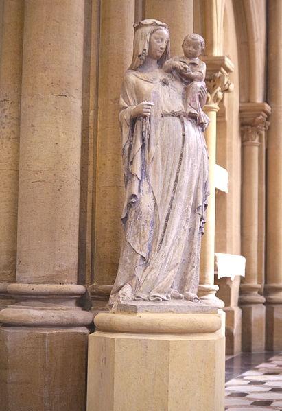 Vierge à l'Enfant, Chapelle de la Providence, Peltre. Monument historique PM57000266