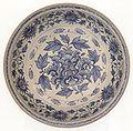 Vietnamese dish, Annam, 15th century, stoneware with underglazed blue design, Honolulu Academy of Arts.jpg