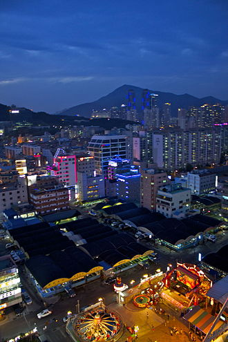 Suyeong District - Nightscape of Suyeong District