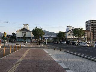 Imari Station Railway station in Imari, Saga Prefecture, Japan