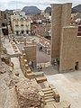 View over Roman Theater with City Backdrop - Cartagena - Spain (14463562261).jpg