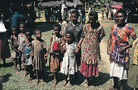 The indigenous Papuans of New Guinea have Australoid and Negroid physical characteristics and are considered black in some cultures despite being gentically closer to Southeast Asians than to Africans.