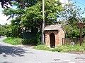 Village sign and shelter, Iwerne Minster - geograph.org.uk - 906989.jpg