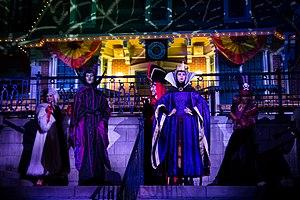Mickey's Not-So-Scary Halloween Party - Disney villains at Mickey's Not-So-Scary Halloween Party 2012