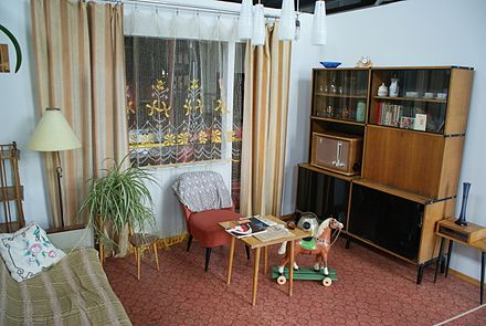 Reconstruction of a typical working class flat interior of the khrushchyovka Vilnius Energy and Technology Museum 48.JPG