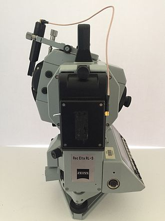 VisionArt - Zeiss Rec Elta RL-S laser survey head used by VisionArt for projects such as Godzilla (1998).