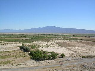Cuatro Ciénegas City in Coahuila, Mexico