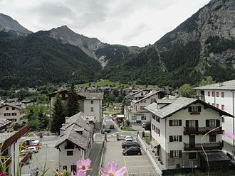 Courmayeur - Dolonne village.