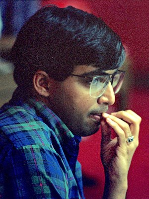Viswanathan Anand - Anand at the Manila 1992 Olympiad, age 22