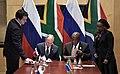 Vladimir Putin and Cyril Ramaphosa, 26 july 2018 (4).jpg