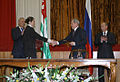 Vladimir Putin and Sergey Bagapsh in Abkhazia 2009-8.jpeg