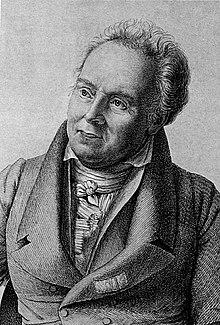 Arnold Heeren. Stich von Ludwig Emil Grimm (1826) (Quelle: Wikimedia)