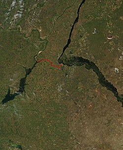 Volga–Don Canal map