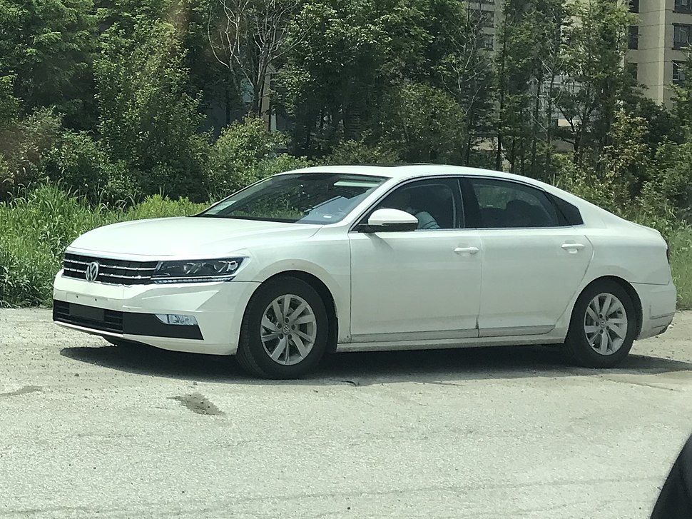 Volkswagen Passat NMS II prototype China 001
