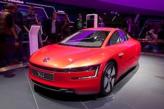 Volkswagen 1-litre car - Volkswagen XL1