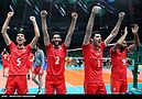 Volleyball, match between Iran and Egypt at the Olympic Games in 2016 02.jpg