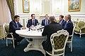 Volodymyr Groysman and Tony Blair in Ukraine - 2018 (MUS7660).jpg