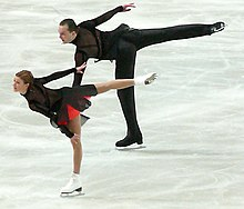 "Image result for arabesque ""pair skating"" gif"