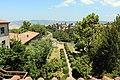 Volterra, museo guarnacci, veduta sul giardino 01.JPG