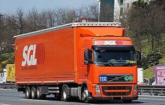 TIR Convention - Modern TIR truck