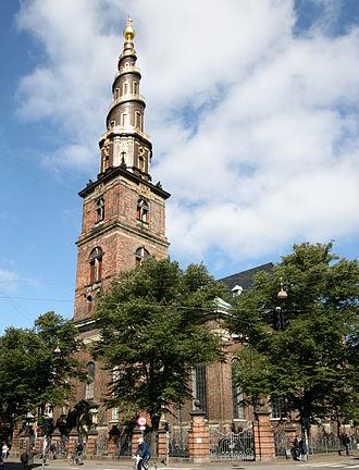 Architecture in Copenhagen - Church of Our Saviour