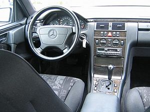 Mercedes-Benz E-Class (W210) - Interior (pre-facelift)