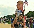 "WASHINGTON DC, SEPT 16 2017- The ""Mother of All Rallies"" event in support of Donald Trump draws a small group to the National Mall. (36432460184).jpg"