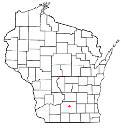Location of Maple Bluff, Wisconsin