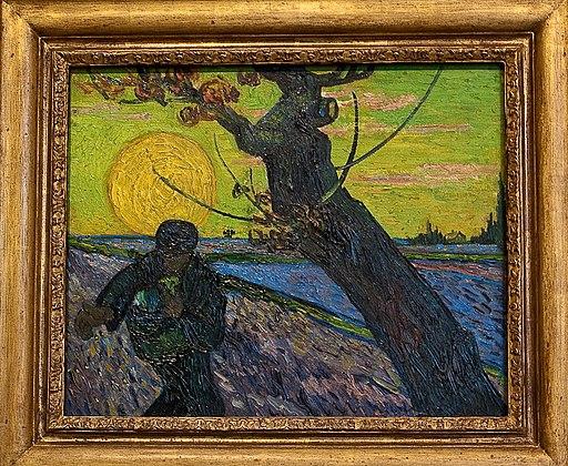 WLANL - MicheleLovesArt - Van Gogh Museum - The sower, 1888