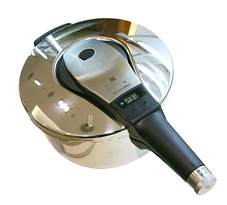 Pressure cooking - Stove top pressure cooker with battery operated timer