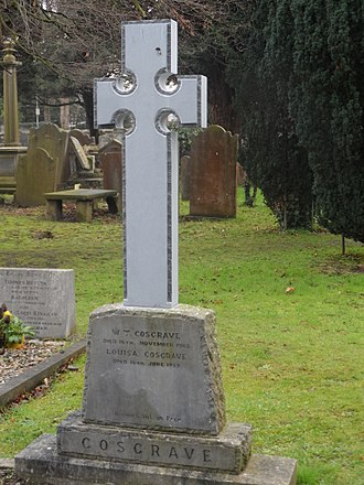 W. T. Cosgrave - Cosgrave's gravestone in Goldenbridge Cemetery.