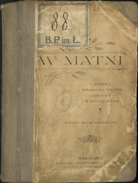 File:Wacław Sieroszewski-W matni.djvu