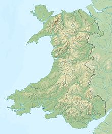 Craig y Llyn (y ffin) is located in Cymru