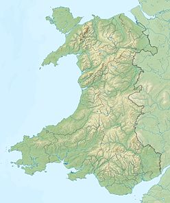 Twmbarlwm is located in Wales