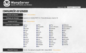 WampServer version 3.2.0