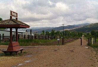 Historic Union Pacific Rail Trail State Park - The Wanship stop