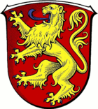 Coat of arms of the city of Frankenau