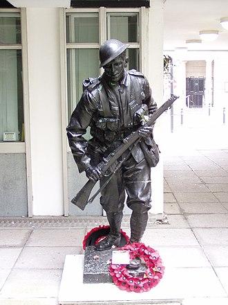 Francis Derwent Wood - Image: War memorial cotton exchange liverpool 1