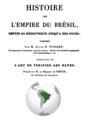Warden, Fortia - Histoire de l'empire du Brésil, 1832, titre.png