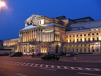 Polish National Ballet - Teatr Wielki (Grand Theater) in Warsaw,  home of the Polish National Ballet.